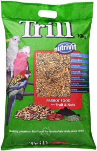 PARROT MIX with FRUIT & NUTS 10kg